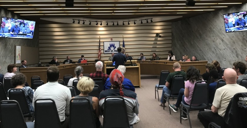 May 28, 2019 West St. Paul city council meeting