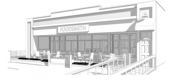 Foodsmith architectural drawing