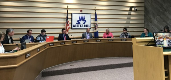 West St. Paul city council meeting