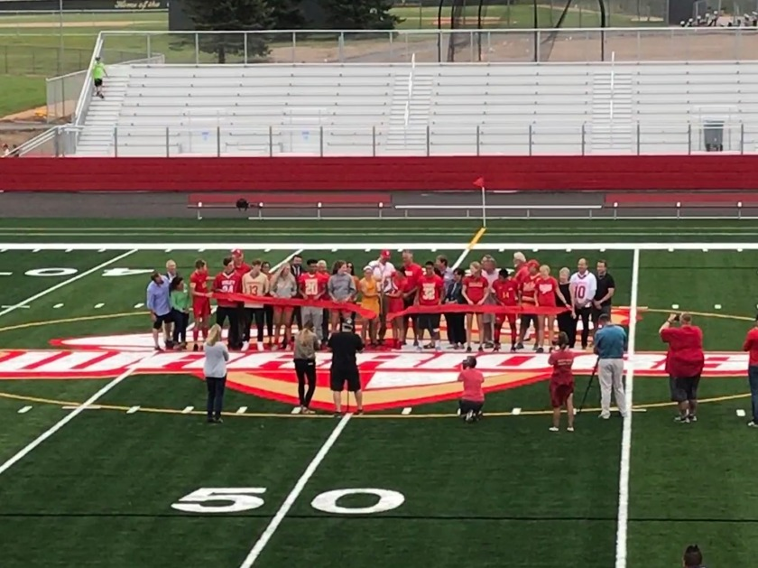 Warrior Field at Sibley High School