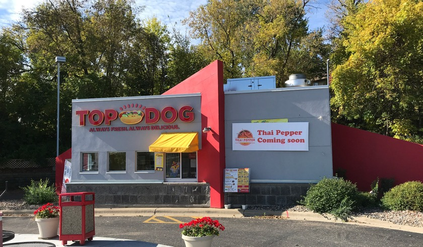 Top Dog is closing, Thai Pepper is coming soon.