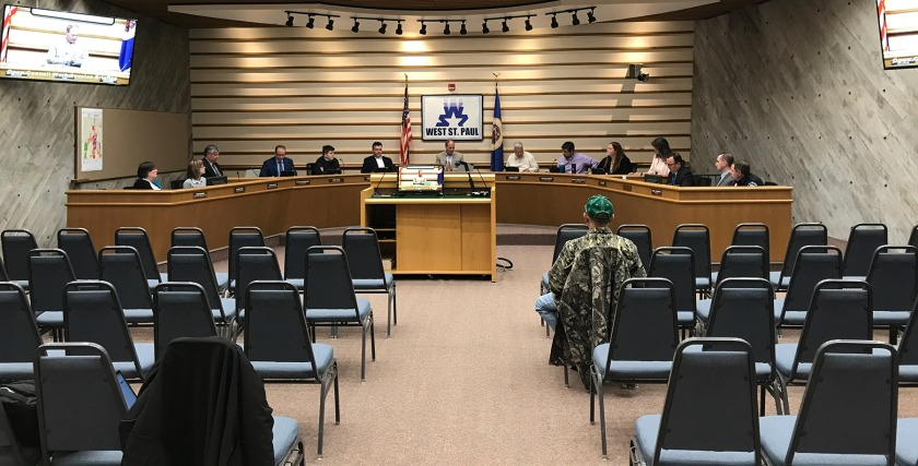 Nov. 25, 2019 West St. Paul city council meeting