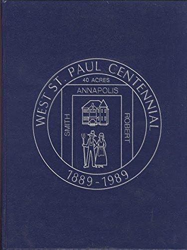 Cover of West St. Paul Centennial book