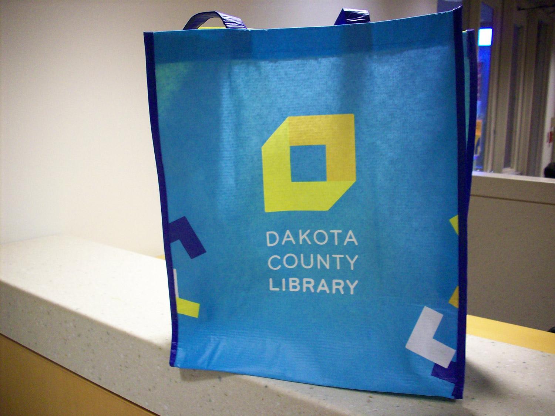 Dakota County Library bag