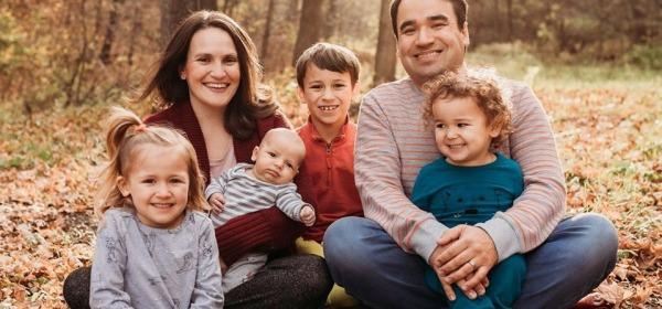 Morgan Kavanaugh and family