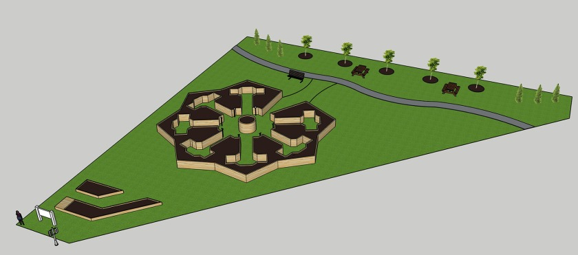 1010 Dodd community garden plans