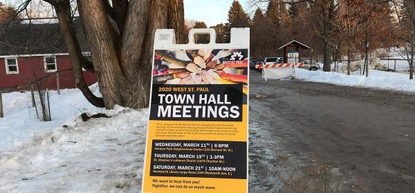 2020 West St. Paul Town Hall Meetings