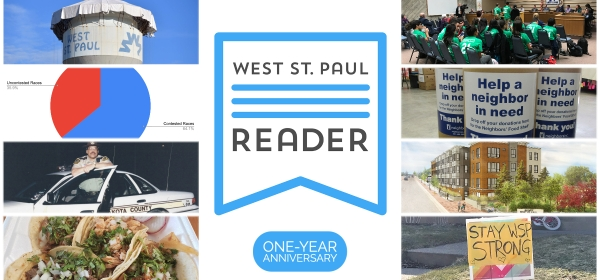 West St. Paul Reader One-Year Anniversary
