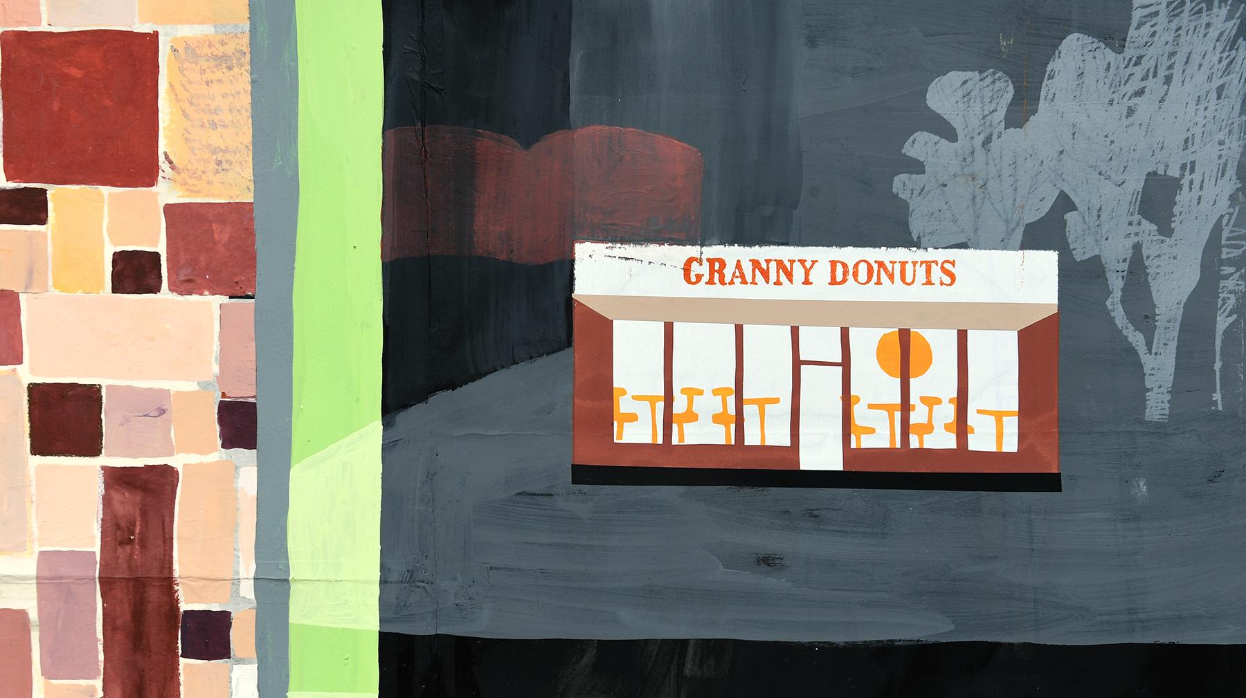 Granny Donuts by Carolyn Swiszcz