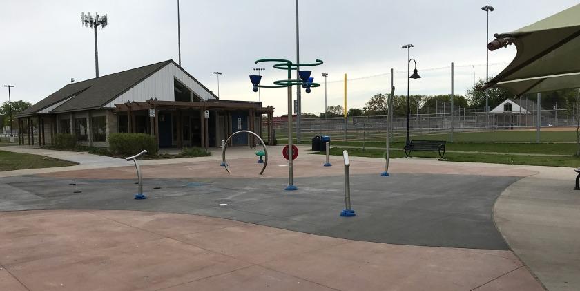 Harmon Park Splash Pad