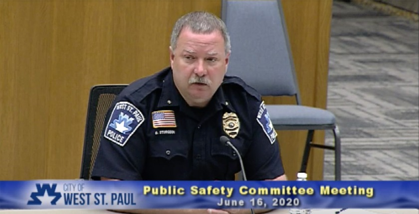 West St. Paul Police Chief Brian Sturgeon