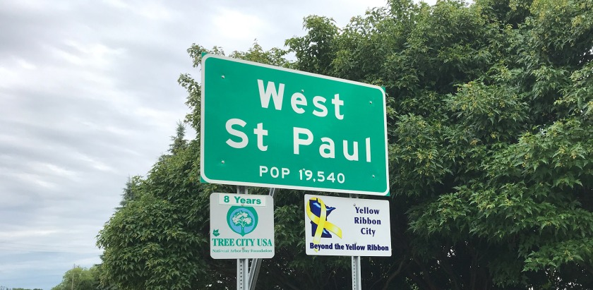 West St. Paul sign