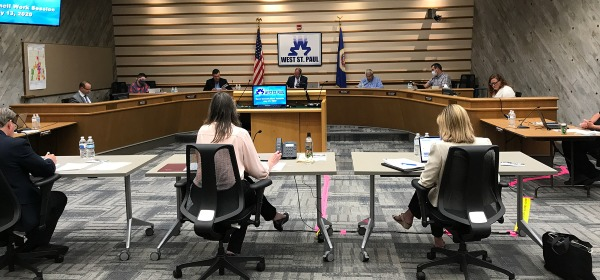 West St. Paul City Council meeting, July 13, 2020
