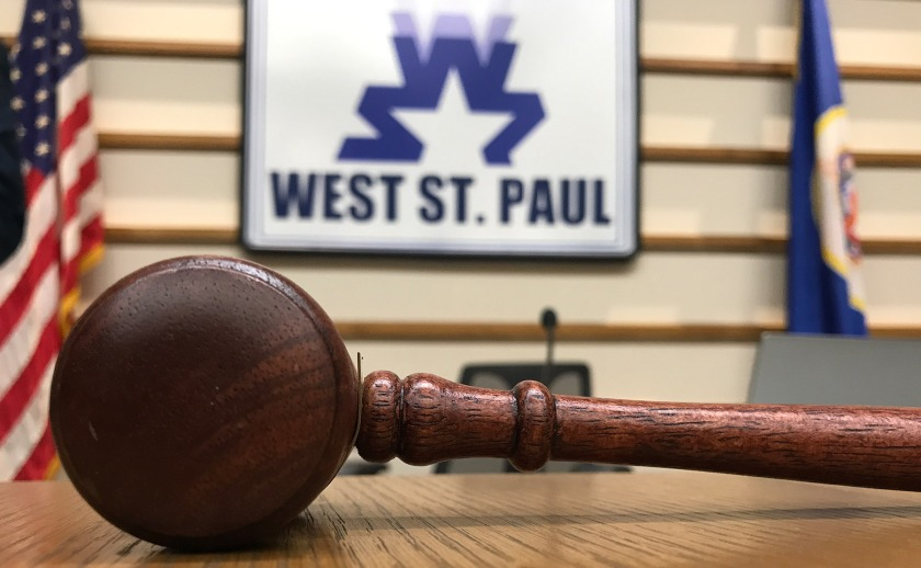 West St. Paul mayor's gavel