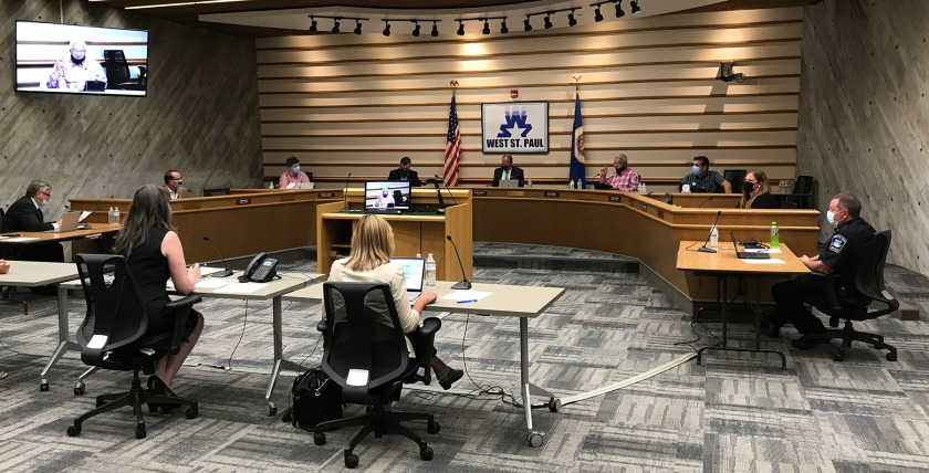 August 17, 2020 West St. Paul City Council meeting