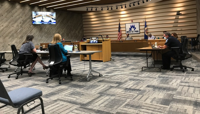West St. Paul City Council meeting on September 14, 2020