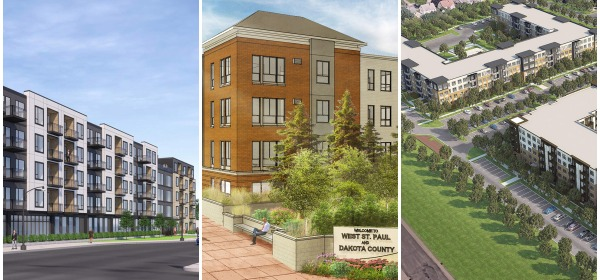 New housing projects in West St. Paul