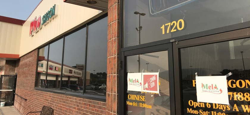 Former Pho Saigon in West St. Paul, soon to be Mela Tha Cuisine.