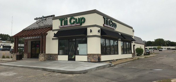 Tii Cup new bob and Taiwanese street food location in West St. Paul
