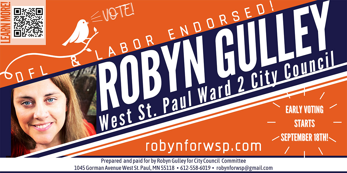 Robyn Gulley for West St. Paul Ward 2 City Council