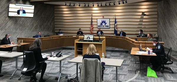 West St. Paul City Council meeting