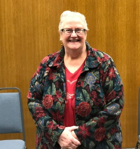Pamela Dyer at the West St. Paul City Council meeting.