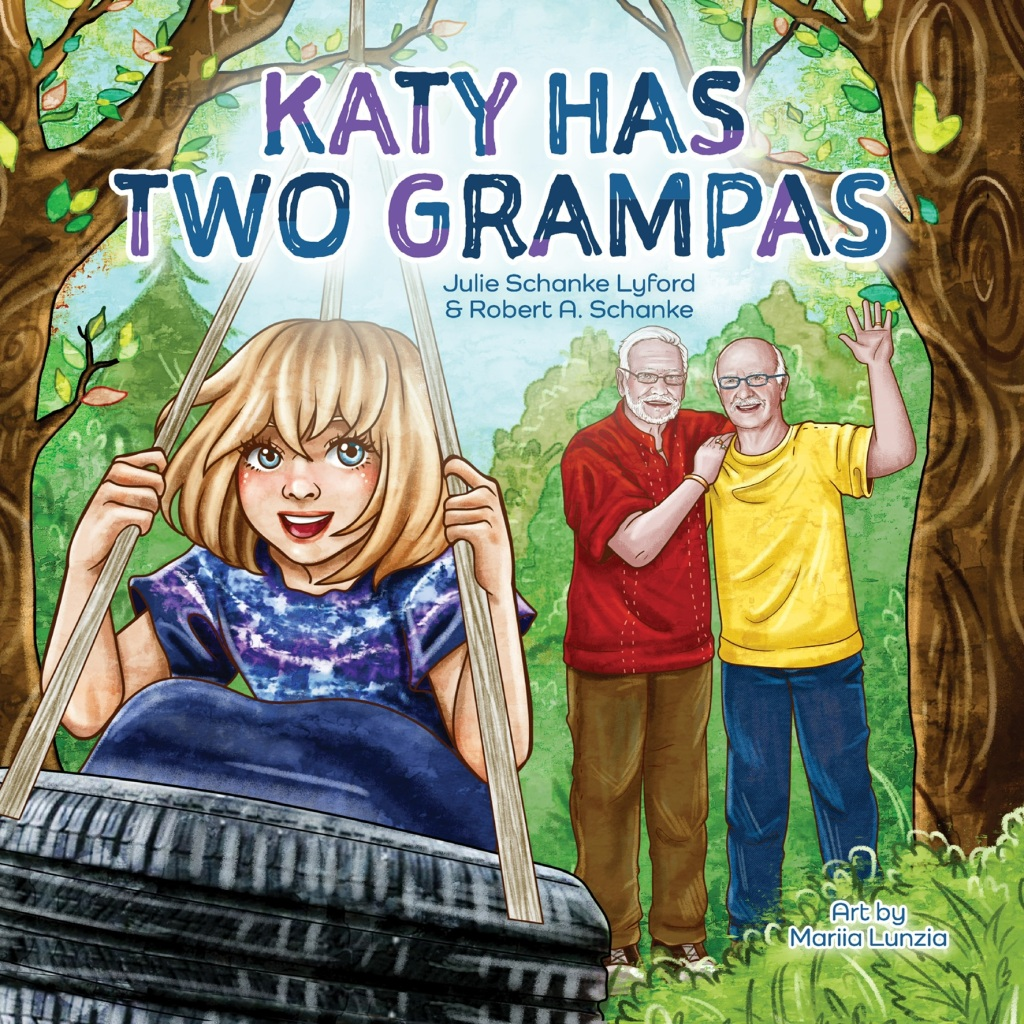 Katy Has Two Grampas book cover