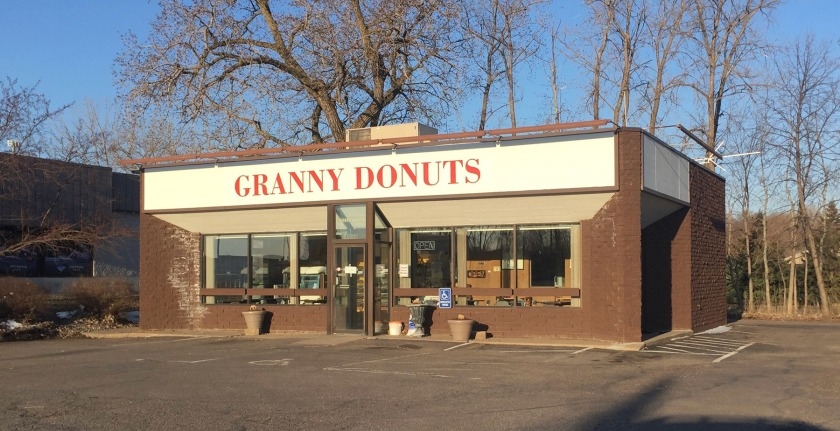 Granny Donuts in West St. Paul (photo by Carolyn Swiszcz)