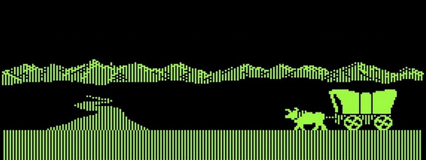 Oregon Trail computer game