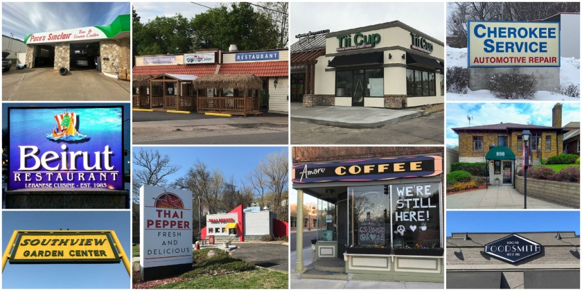 Local businesses in West St. Paul