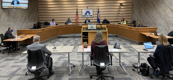 Jan. 11, 2021 West St. Paul City Council meeting