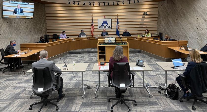 Jan. 11, 2021 West St. Paul City Council meeting