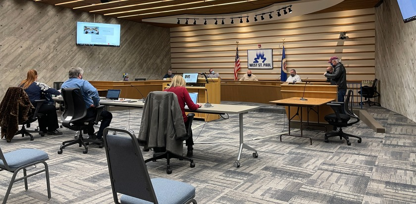 West St. Paul Charter Commission meeting