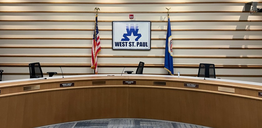 West St. Paul City Council chambers