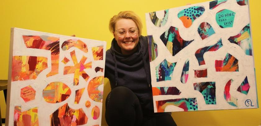 West St. Paul artist Sarah Lew