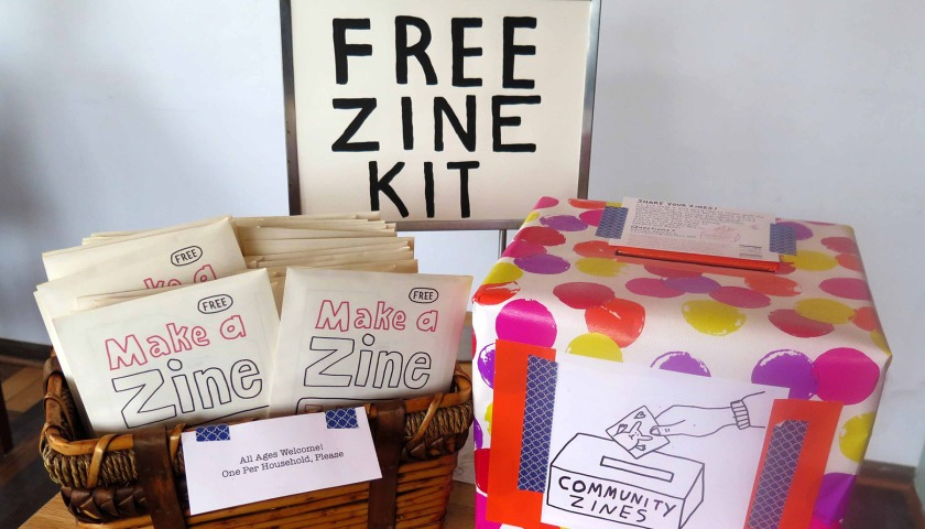 Free Zine Kit