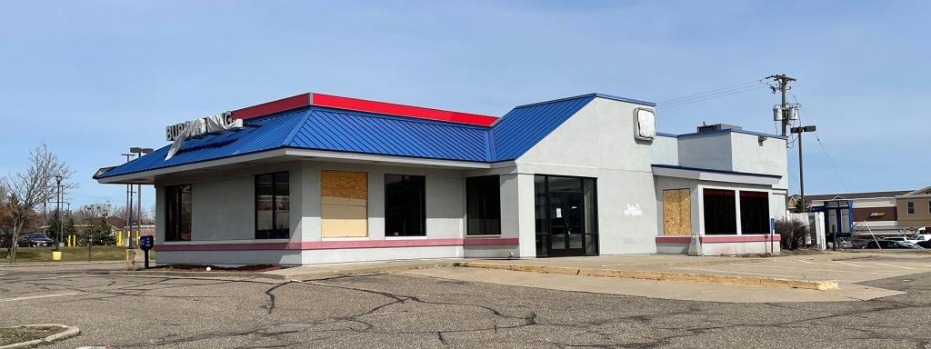 Vacant Burger King building