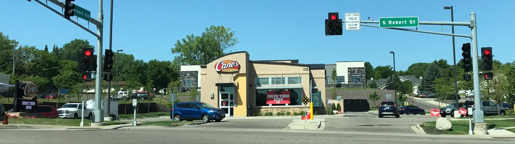 Cane's Chicken Fingers in West St. Paul