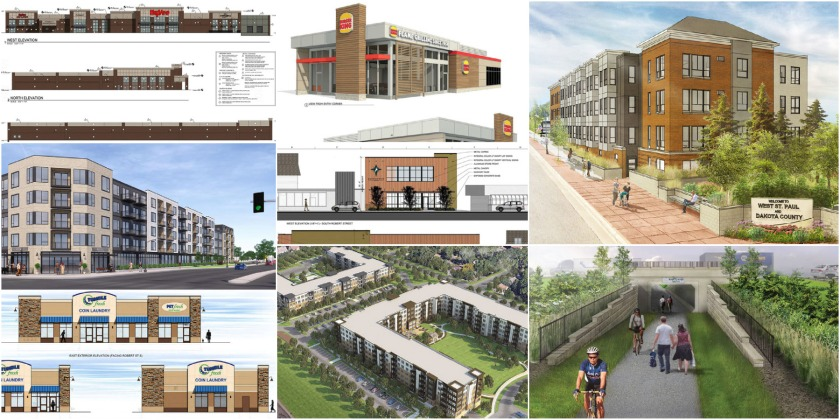 Various development projects in West St. Paul