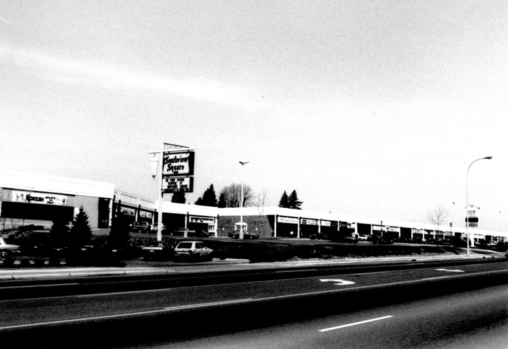 Southview Square shopping center in 1988.