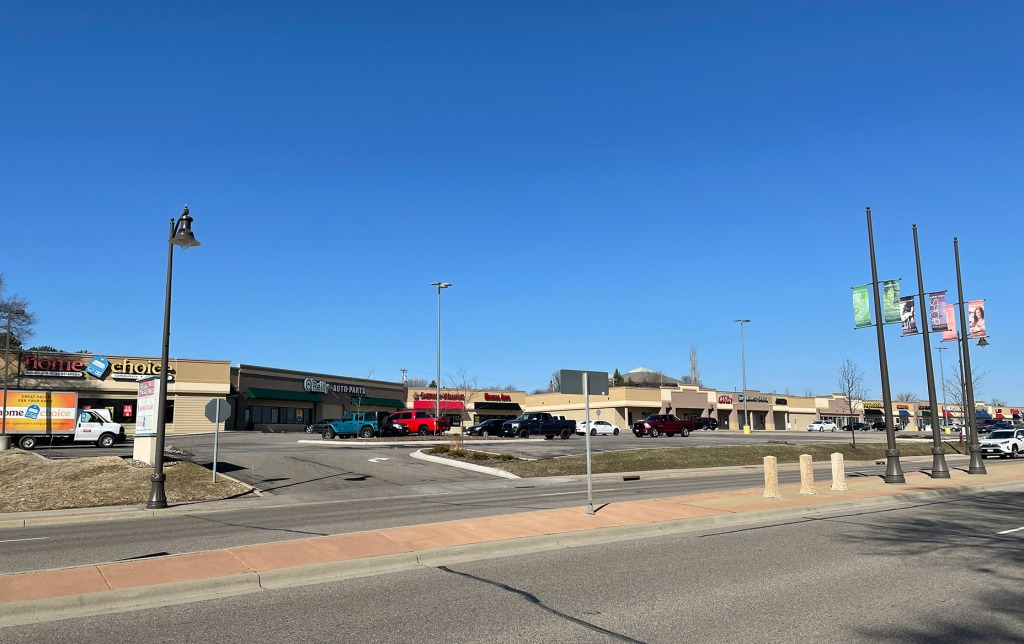 Southview Square shopping center in 2021