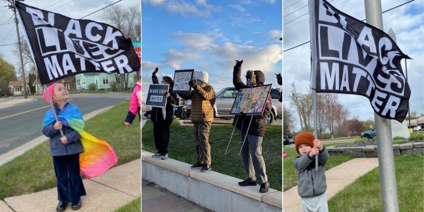 Black Lives Matter protests in West St. Paul