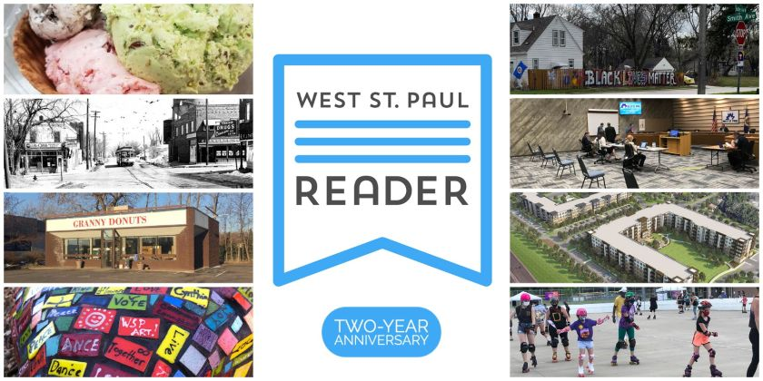 West St. Paul Reader Two-Year Anniversary