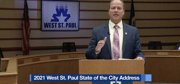 2021 West St. Paul State of the City Address from Mayor Dave Napier