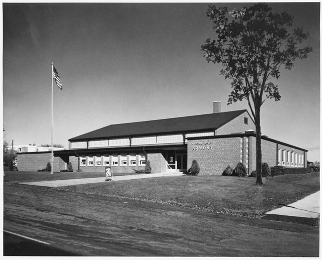 National Guard Armory in West St. Paul in the 1970s.