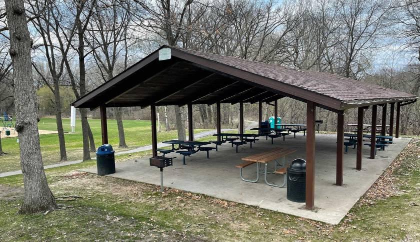 Garlough Park picnic shelter