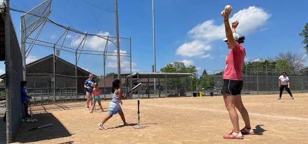 Ella Avanza's free softball clinic
