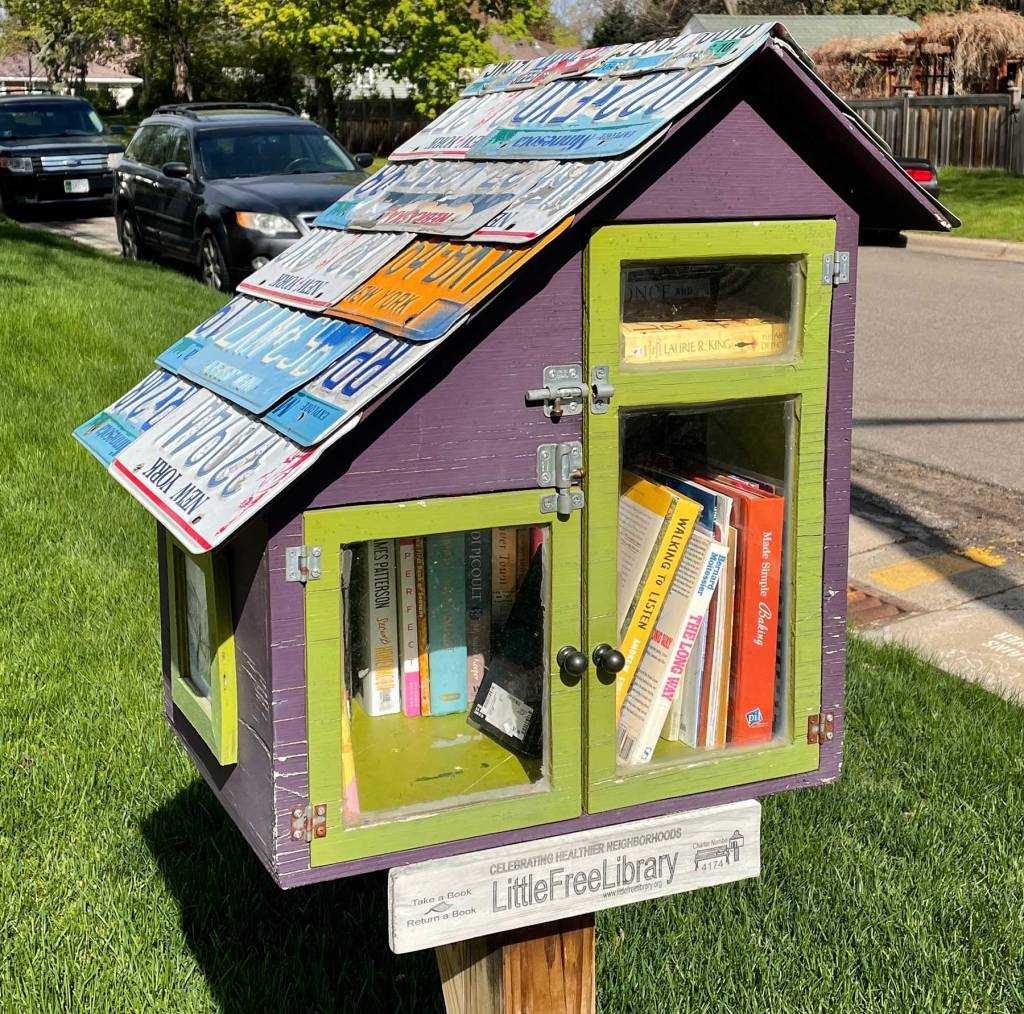 Little Free Library in West St. Paul