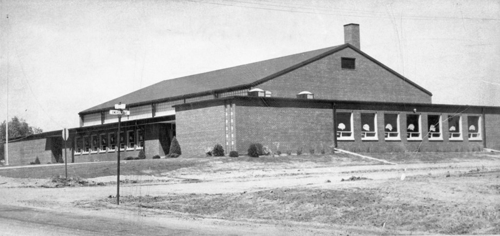 National Guard Armory in West St. Paul circa 1960.