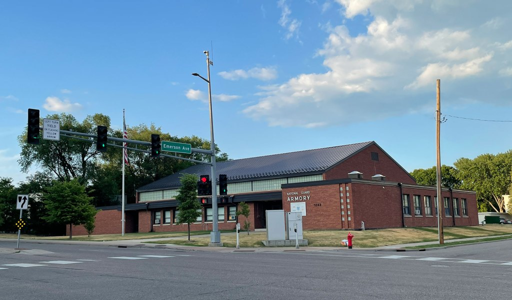 National Guard Armory in West St. Paul